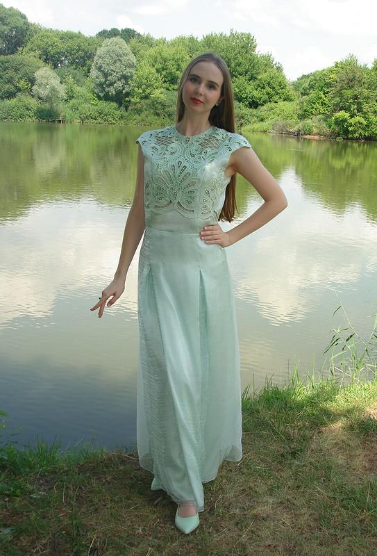 Выпускное платье от Марина Вл