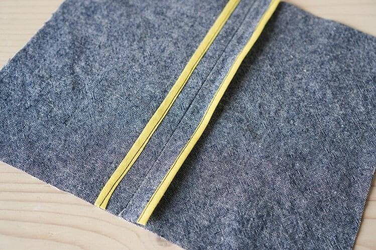 Обработка припусков шва косой бейкой: 3 простых способа