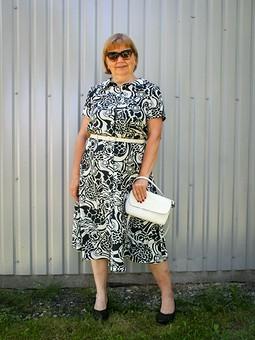 Работа с названием И снова платье-рубашка - вариант для жаркого лета...