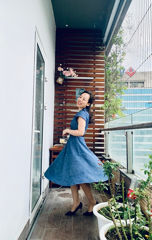 Denim dress от Binh Ngo