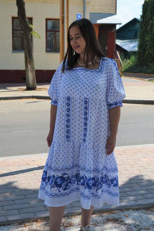 Платье-парашют «Гжель» от RiRi1990