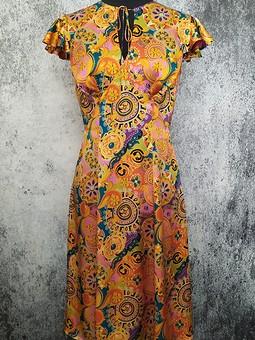 Работа с названием Шёлковое платье