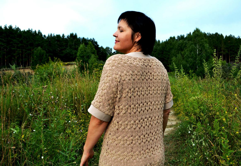 Платье изхлопкового кружева от Любаева Светлана