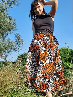 Работа с названием Африканская юбка