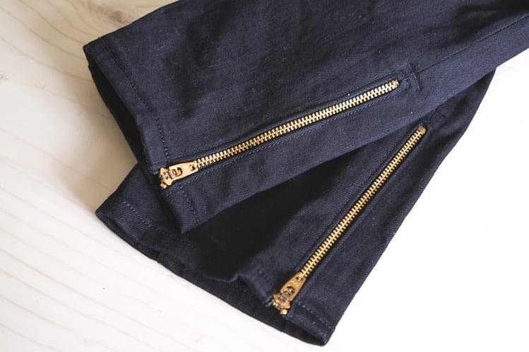 Как вшить застёжки-молнии вштанины брюк