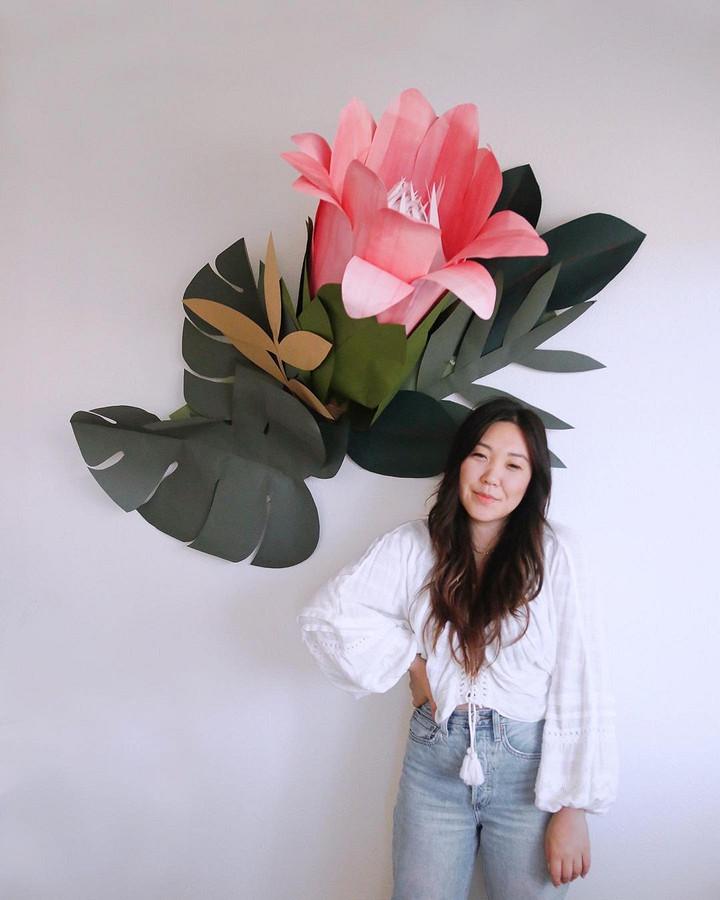 Бумажные цветы, которые неотличить отнастоящих: рукодельный instagram недели
