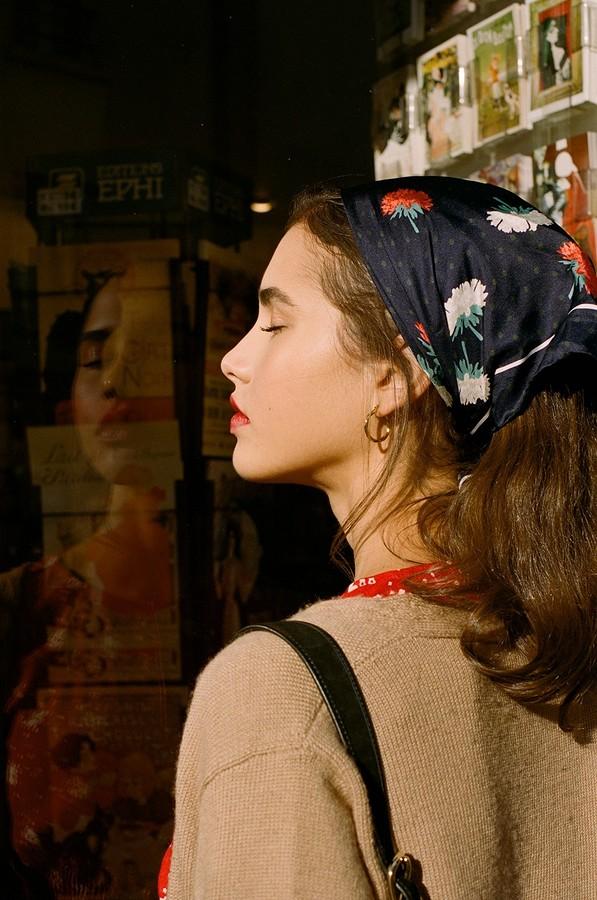 12 способов носить платок-бандану летом