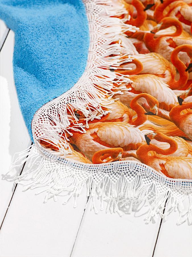 Необычный пляжный коврик своими руками