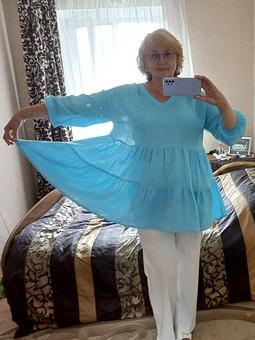 Работа с названием Еще один парашют - блузка