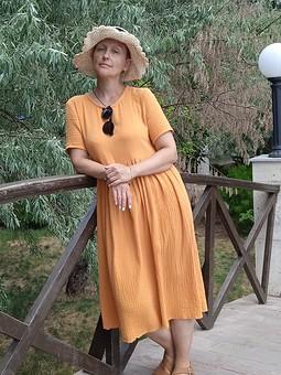 Работа с названием Платье-солнце