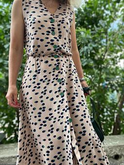 Платье из креп-вискозы