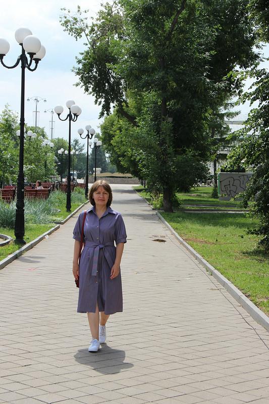 Офисное платье-рубашка от fortuna