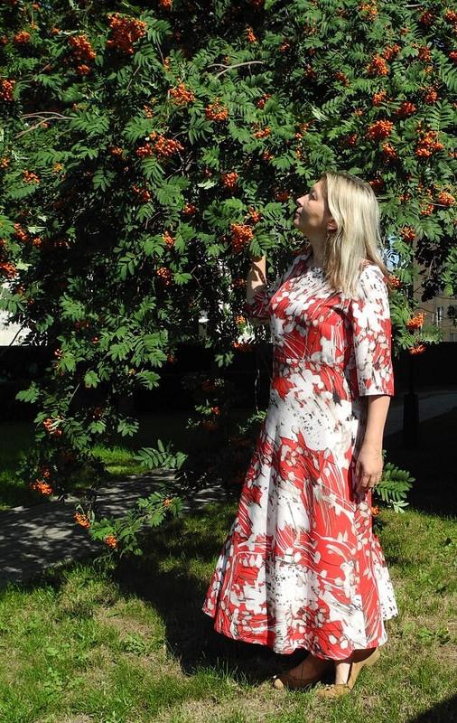 Простое иэффектное платье навсе времена от tschayka