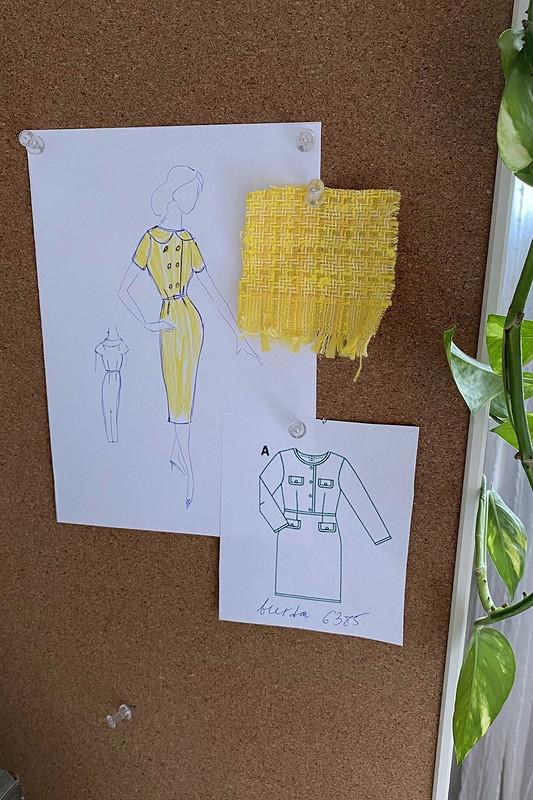 Твидовое платье от Ирина Лазарева
