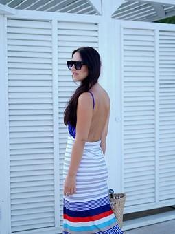 Работа с названием ♡Пляжное платье♡