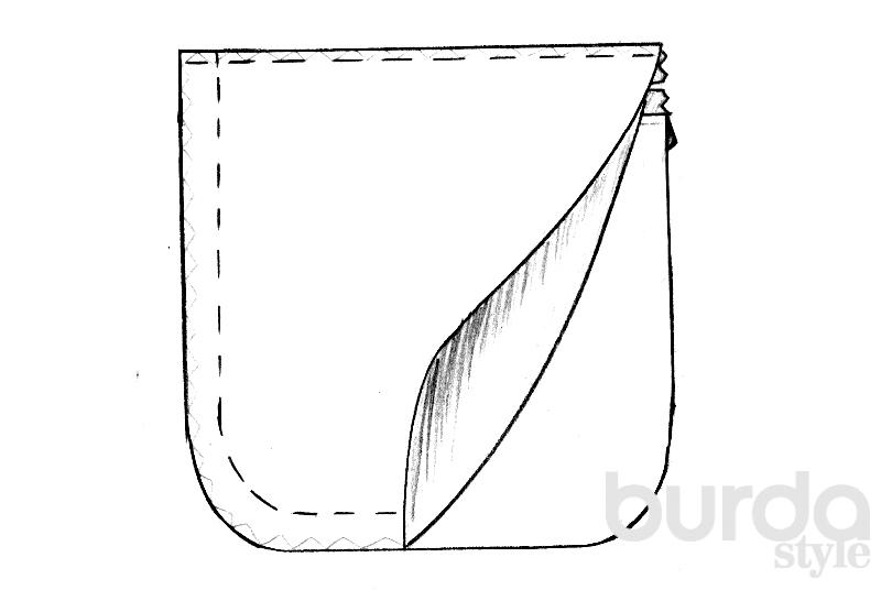 Прорезные карманы: шьем быстро и красиво