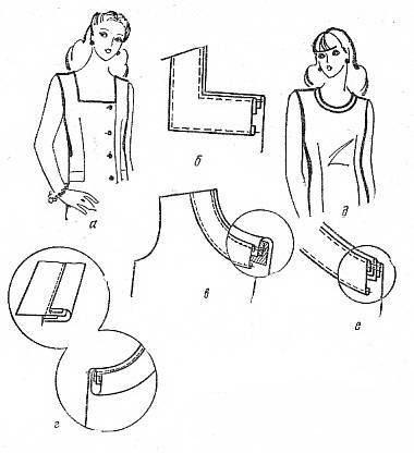 Способы обработки горловины