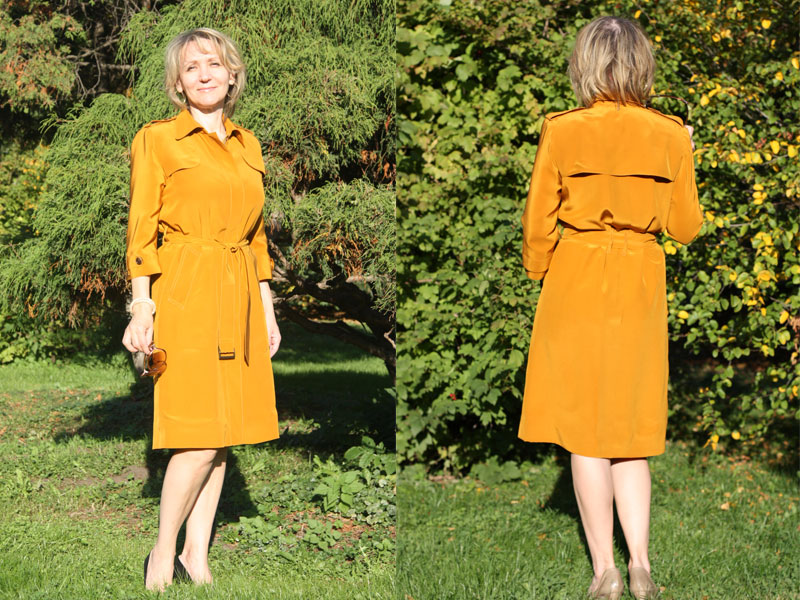 Шьем платье в стиле Burberry — Мастер-классы на BurdaStyle.ru 834b8ef3912