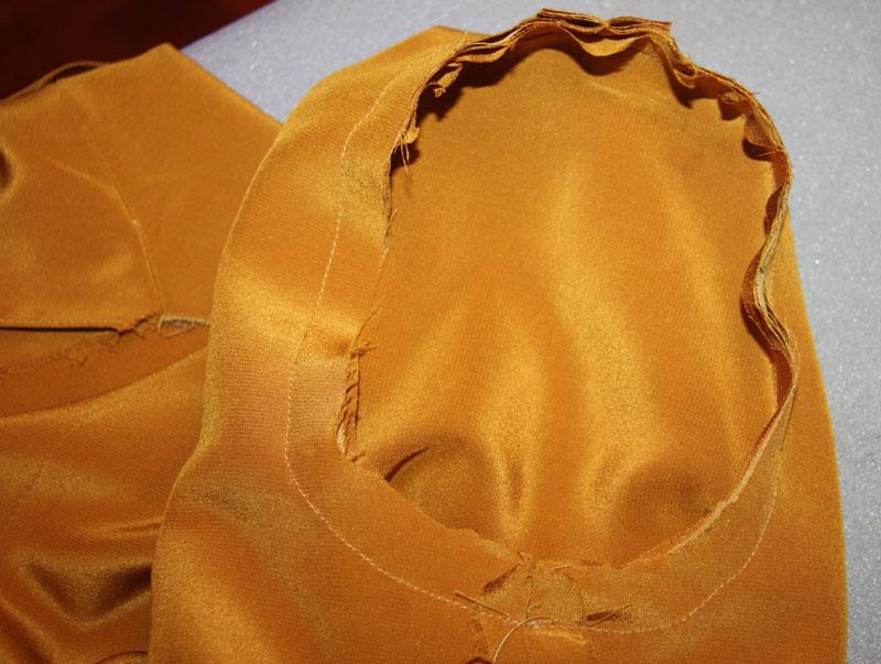 Шьем платье в стиле Burberry