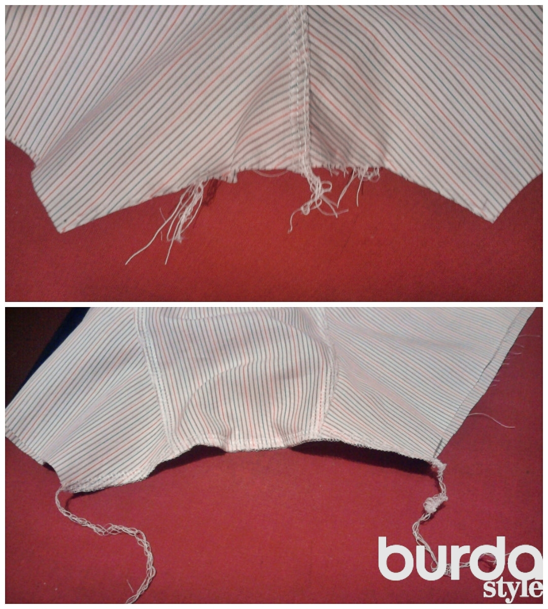 инструкция как шить детские штаны с ложным гульфиком