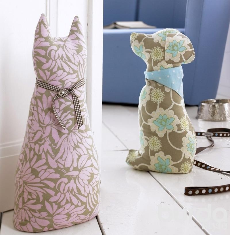 Шьем мягкие игрушки – кошку и собачку