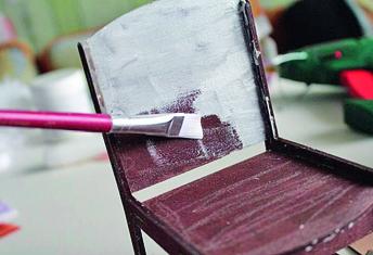 Игольница-стульчик: мастер-класс