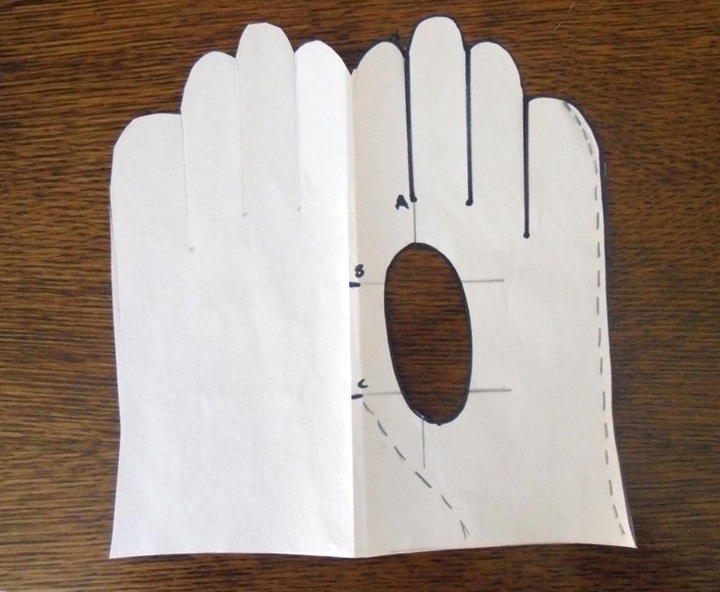 Как сшить перчатки изкожи