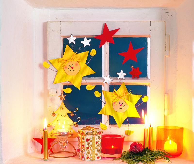 Декорируем окно к Рождеству своими руками