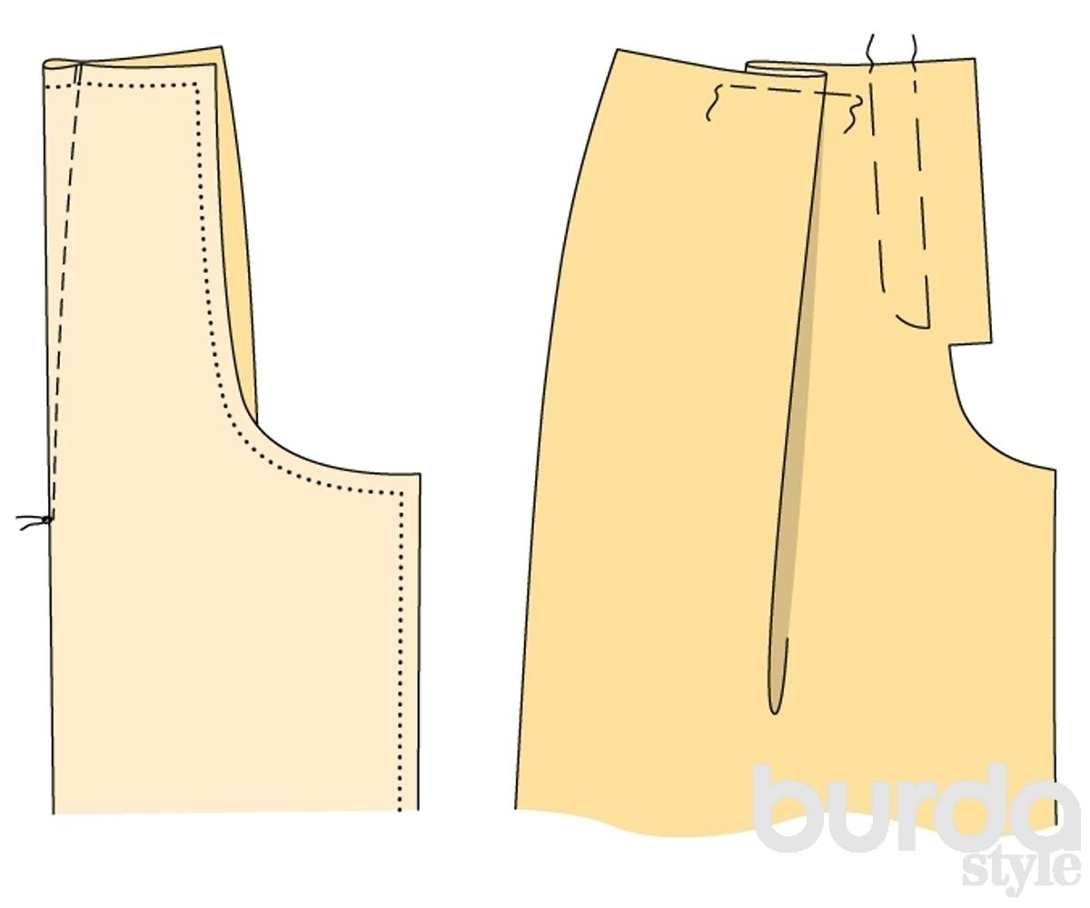 Как сшить юбку-брюки