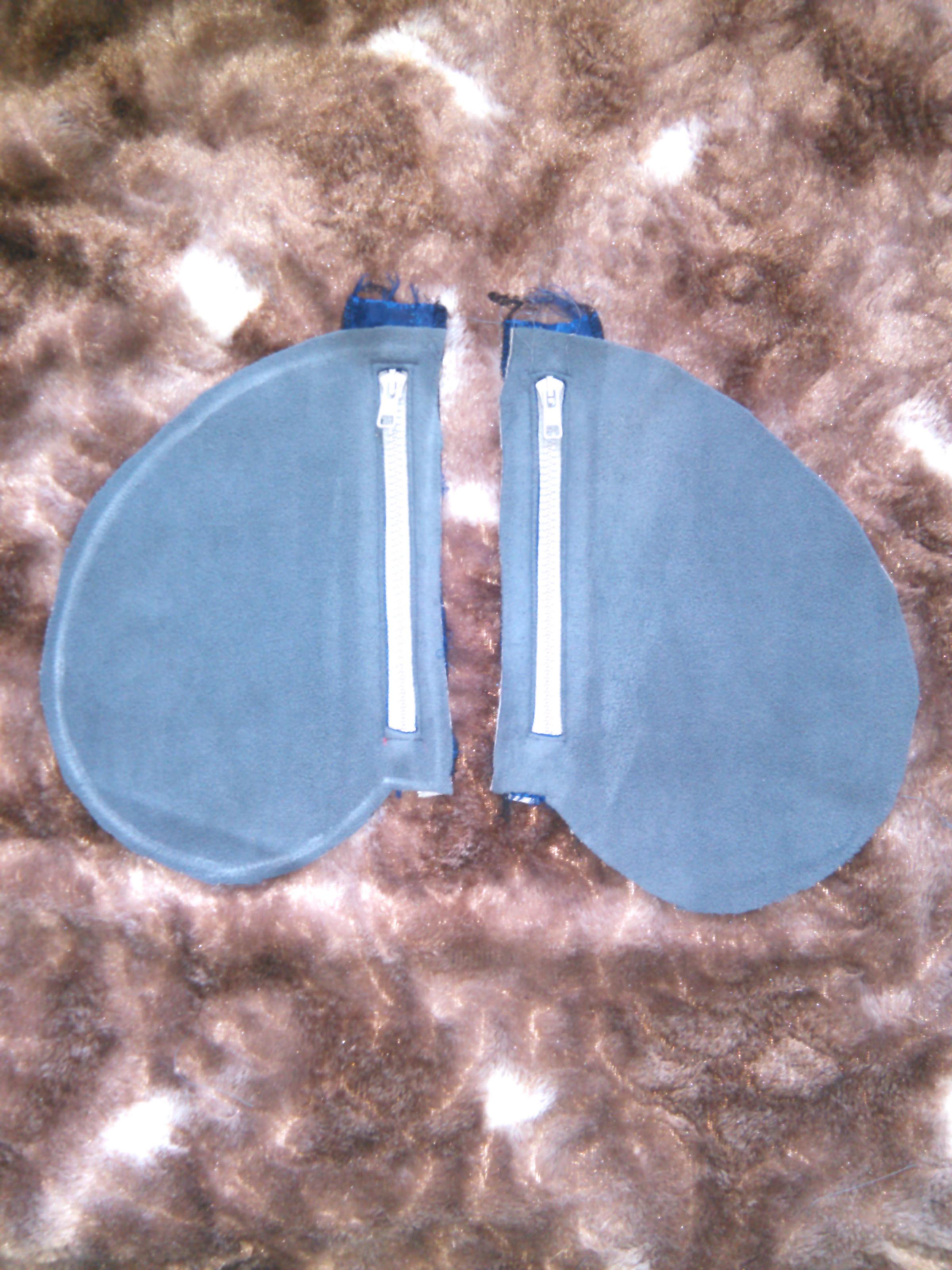 Спортивная куртка издвухстороннего флиса (часть 1)