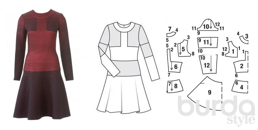 Как можно пошить платье