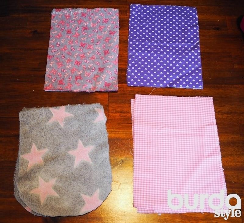 Подушка-игрушка для малыша своими руками