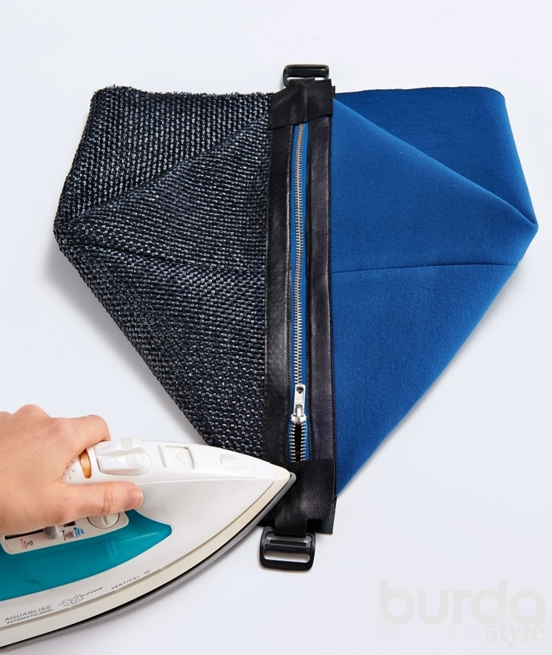 Рюкзак с молнией своими руками