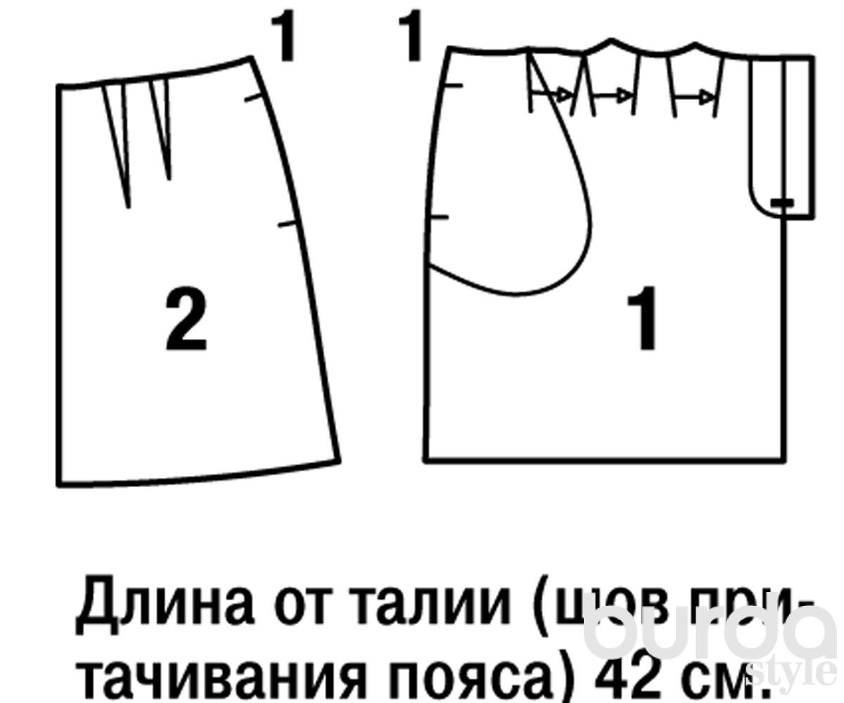 Шитье юбки пошаговая инструкция