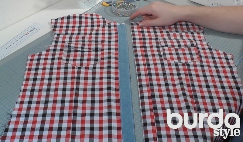 Как сшить мужскую рубашку - выкройка от А 47