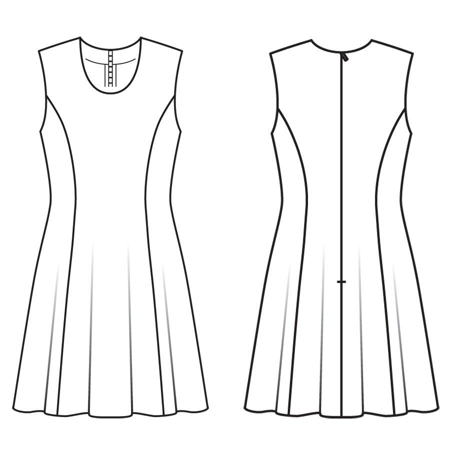 Домой модели платья туники