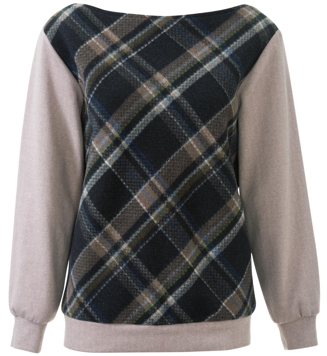 Пуловер Свободного Кроя