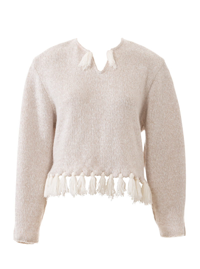 Пуловер снежная королева