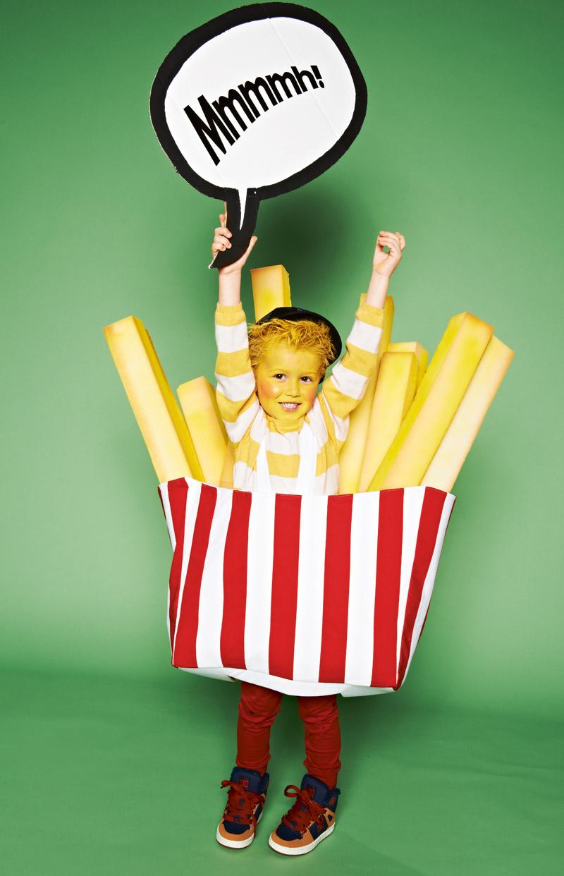 Маскарадный костюм «картошки фри» - выкройка № 136 из ... - photo#32
