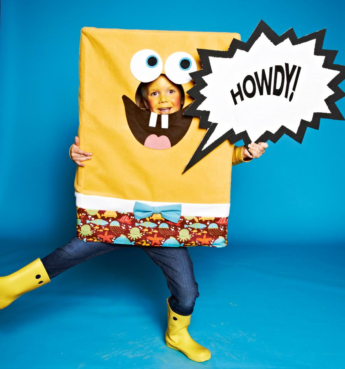 Маскарадный костюм «губка боб» - выкройка № 141 из журнала ... - photo#27