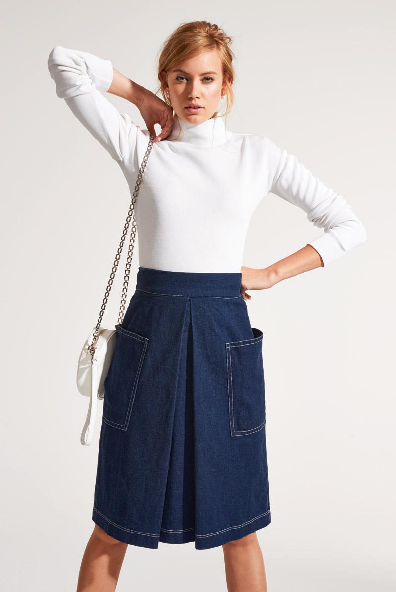 Юбка бурда мода