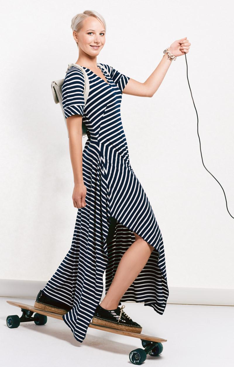 Платье рукав реглан
