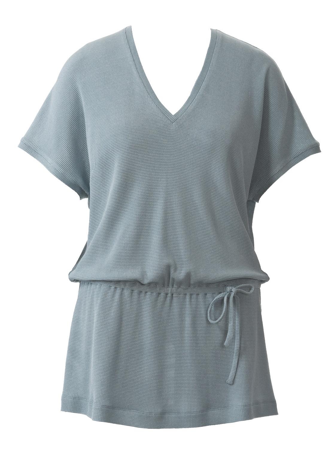 Блузка с кулиской