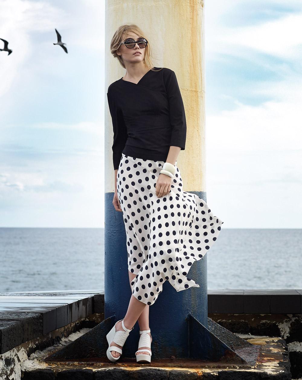 Модные юбки из журнала бурда