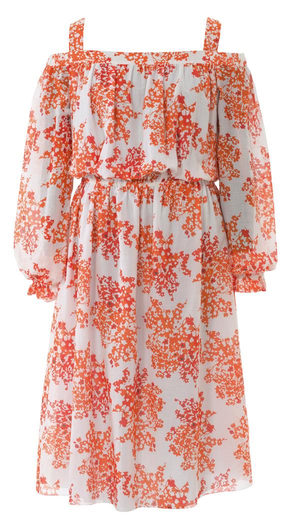 Платья с вырезом кармен