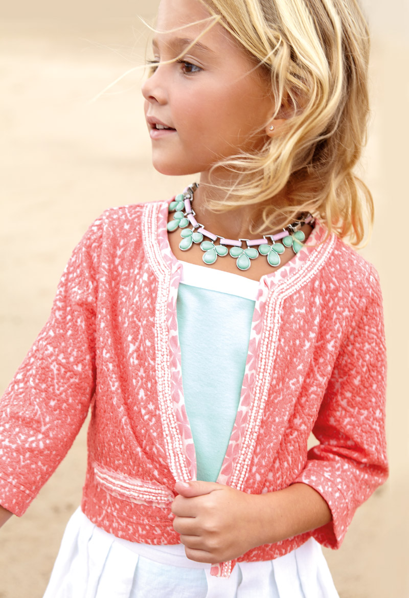Платье девочку в стиле шанель