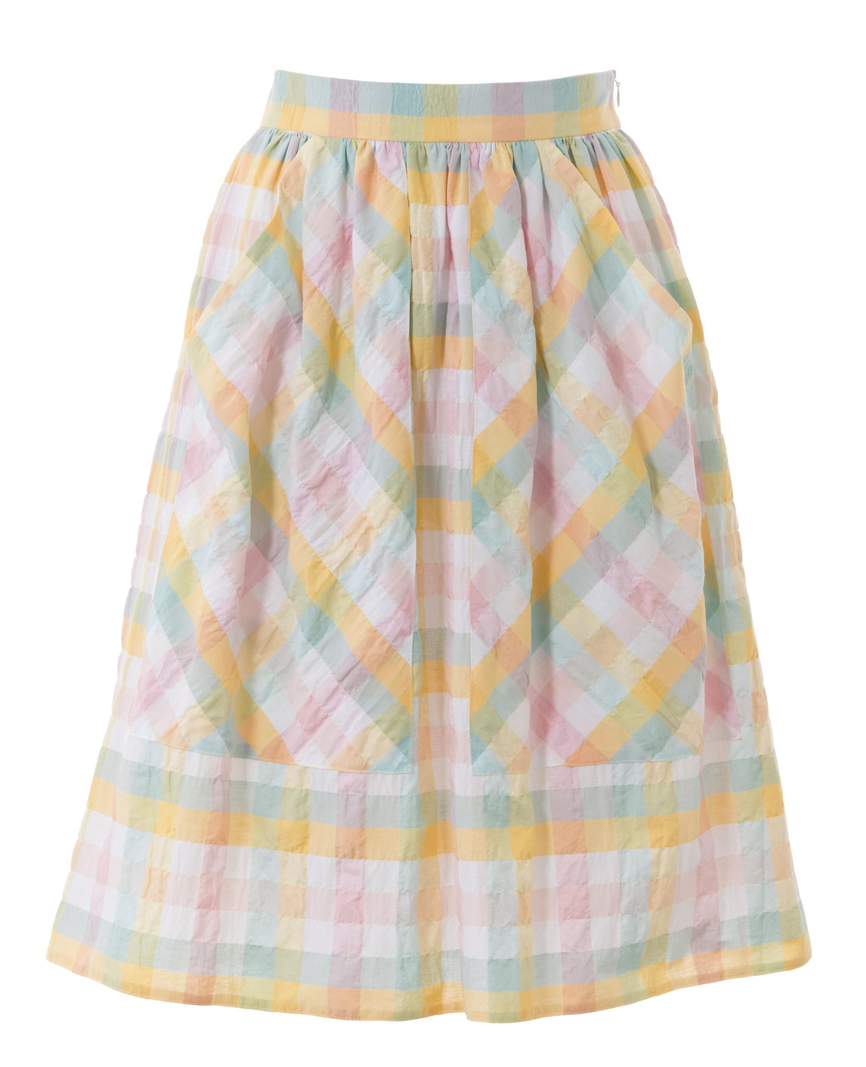 юбка с карманами выкройка