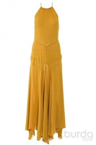 Бурда Платье С Американской Проймой 15