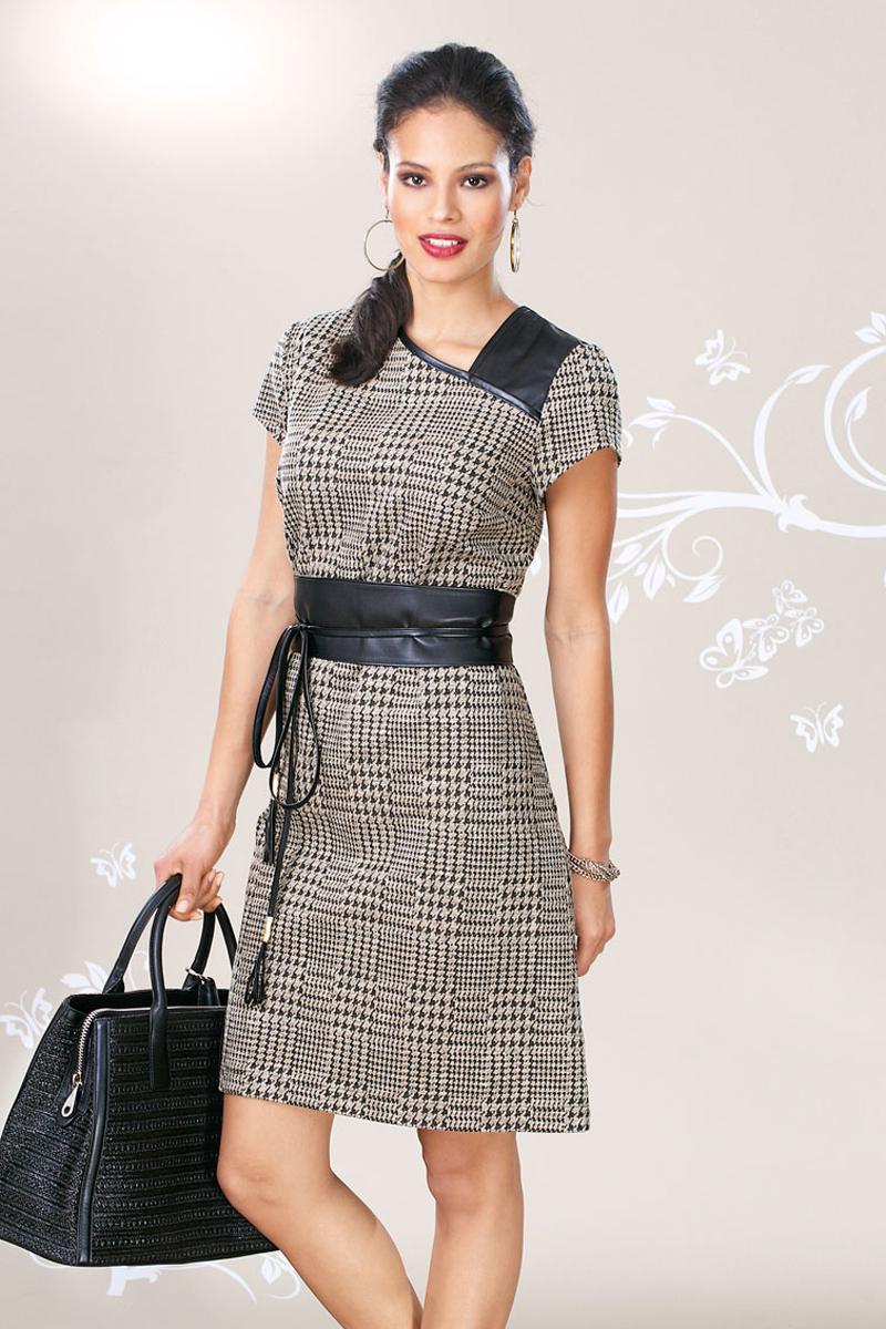 Платье футляр асимметричное