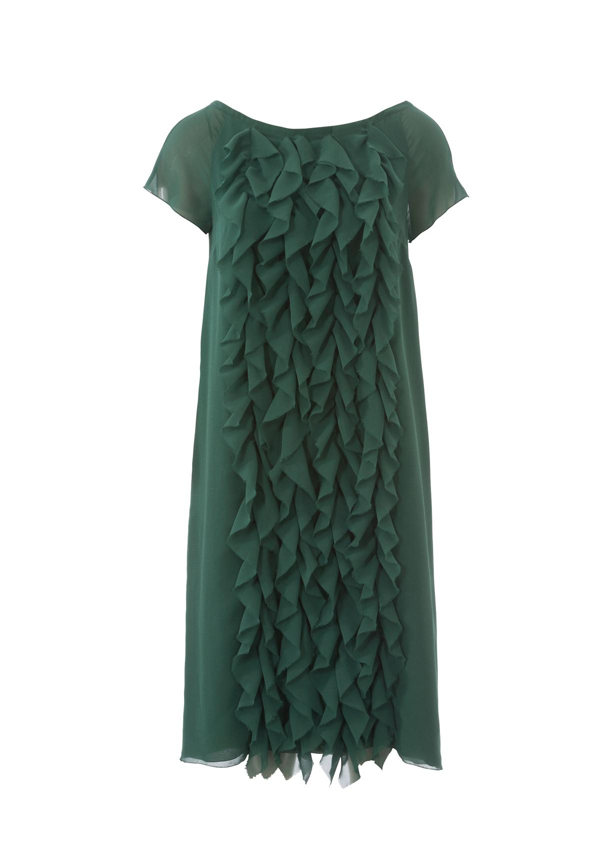 Платье прямого кроя без рукавов 190